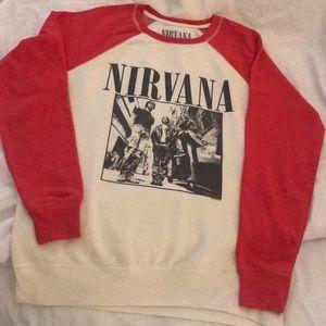 Nirvana Sweatshirt from American Eagle